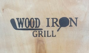 Wood Iron grill logo
