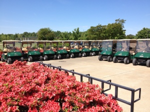 Kiskiack golf club golf cart fleet